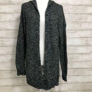 Torrid | Open Front Hooded Knit Cardigan | Size 0